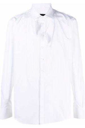 Dsquared2 Camisa con pechera plisada