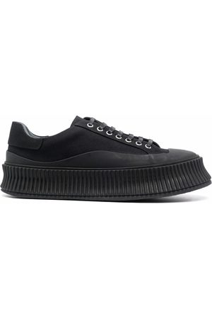 Jil Sander Hombre Tenis - Padded lace-up sneakers