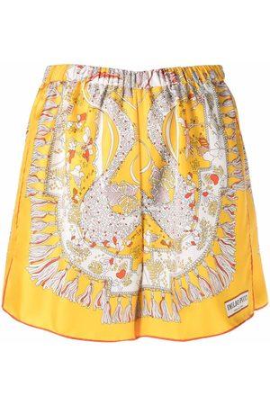 Emilio Pucci Mujer Estampados - Shorts con estampado Rugiada