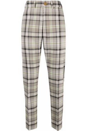 Vivienne Westwood Mujer Capri o pesqueros - Check print cropped trousers
