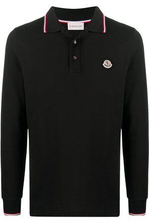 Moncler Hombre Polos - Playera tipo polo con parche del logo