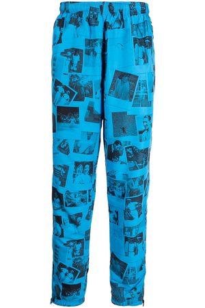 Lacoste Hombre Pantalones y Leggings - Polaroid-print track trousers
