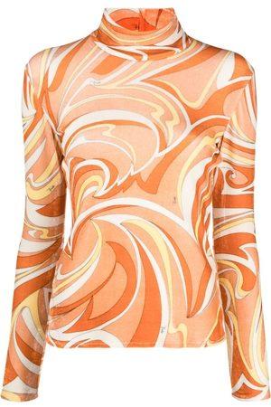 Emilio Pucci Mujer Tops - Top con estampado abstracto