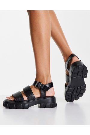 Schuh Mujer Sandalias - Tamia chunky sandals in black