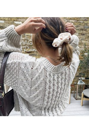 Labelrail Mujer Accesorios para el cabello - X Collyer Twins oversized scrunchie in scattered spot