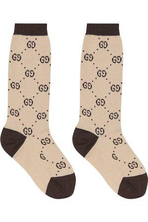 Gucci Niña Calcetines - GG cotton-blend socks