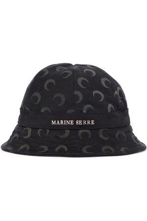 Marine Serre Denim bucket hat