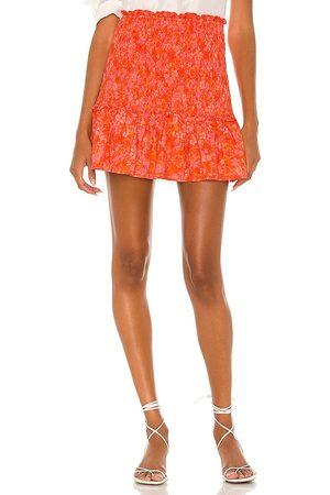 Lovers + Friends Minifalda reston en color naranja talla L en - Orange. Talla L (también en XXS, XS, S, M, XL).
