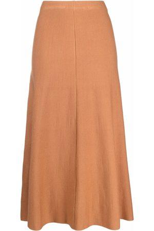 Pinko Mujer Faldas - Falda cruzada con cintura alta
