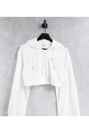 Puma Icons 2.0 fashion hoodie in white