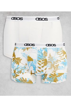 ASOS 2 pack trunks with floral print
