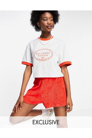 Reclaimed Inspired relaxed cropped ringer t