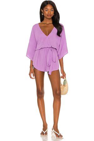 Indah Sunday kimono romper en color morado talla M/L en - Purple. Talla M/L (también en S/M).