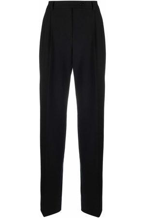 Alberta Ferretti Tailored high-waist trousers