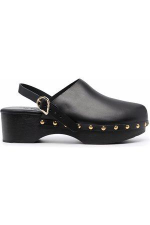 Ancient Greek Sandals Mujer Zuecos - Zuecos Classic Closed de 70mm con apliques