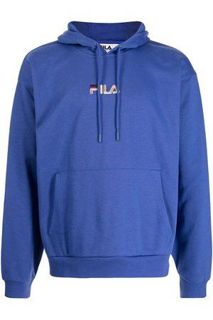 Fila Logo-embroidered drawstring hoodie