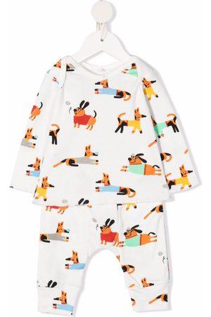 Stella McCartney Kids Conjunto de leggins y playera Baby Doggies