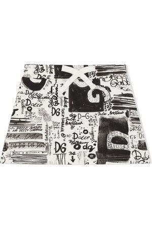 Dolce & Gabbana Falda con estampado de grafiti