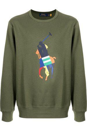 Polo Ralph Lauren Suéter con logo estampado