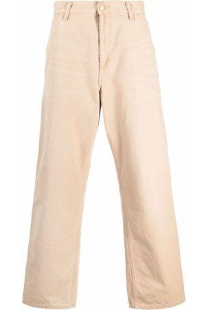 Carhartt WIP Hombre Anchos y de harem - Pantalones anchos de corte recto