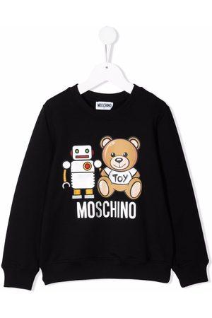 Moschino Teddy robot sweatshirt