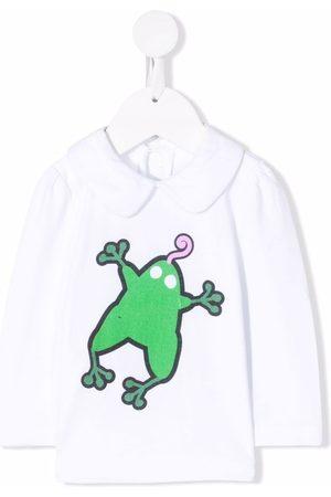 Marni Kids Top con rana estampada
