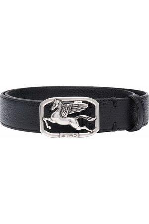 ETRO Logo plaque belt