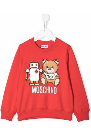 Moschino Sudadera Teddy Robot