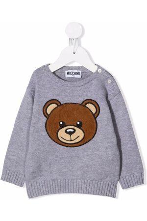 Moschino Jersey con bordado Teddy Bear