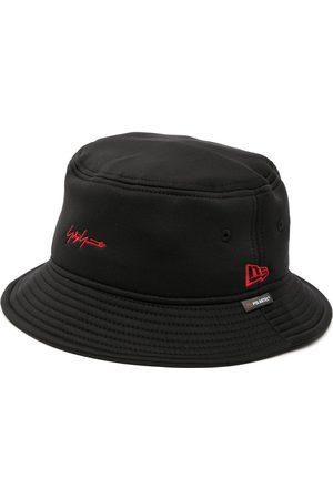 Yohji Yamamoto Hombre Sombreros - Logo-embroidered bucket hat