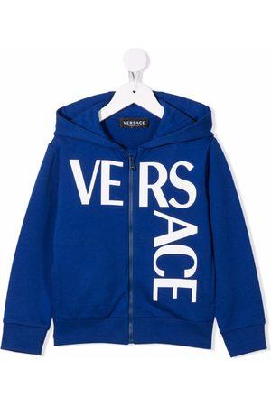 Versace Kids Hoodie con logo