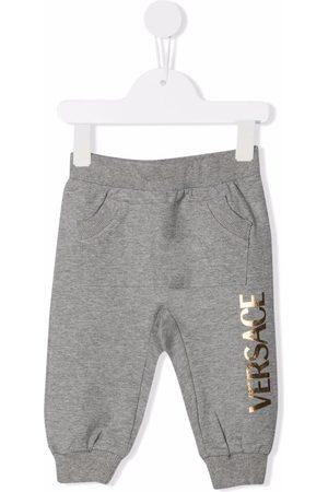 VERSACE Pantalones de chándal con logo