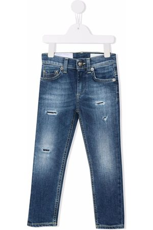 Dondup Skinny jeans con efecto envejecido