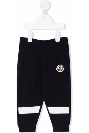 Moncler Pantalones de chándal con parche del logo