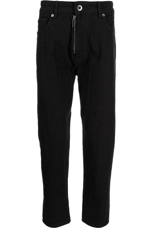 Emporio Armani High-wiasted slim-fit jeans