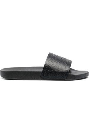 Dsquared2 Hombre Flip flops - Sandalias con logo en relieve