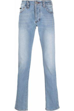 Philipp Plein Jeans rectos con botón