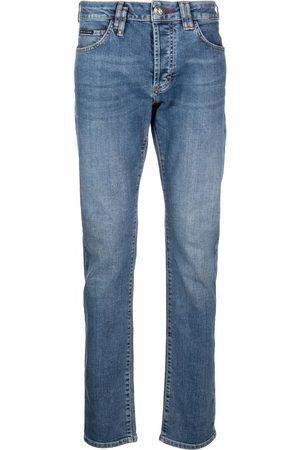 Philipp Plein Hombre Rectos - Jeans de corte recto
