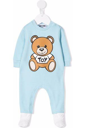 Moschino Kids Pijamas - Teddy Bear long-sleeve pajamas
