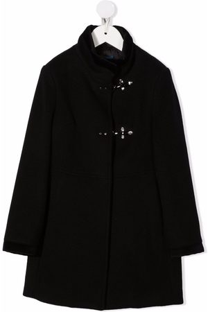 FAY KIDS Single-breasted high-neck coat