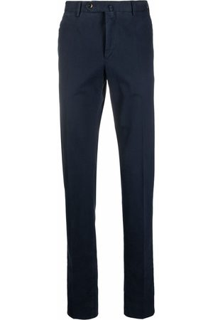 Pt01 Straight-leg cotton chinos