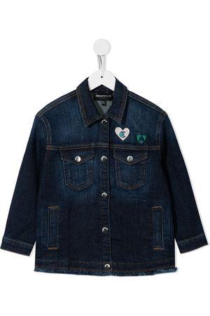 Emporio Armani Patch-detail denim jacket