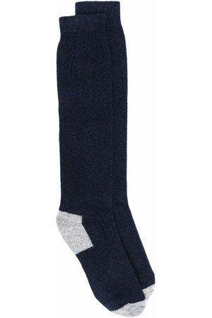 Fedeli Contrasting-panel socks
