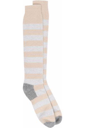 FEDELI Stripe-pattern socks