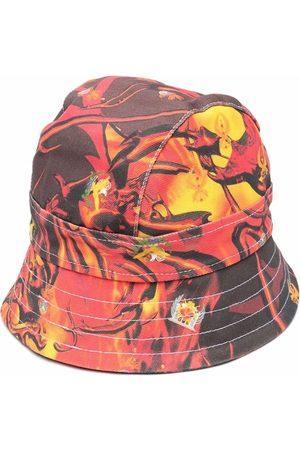Liberal Youth Ministry Hombre Sombreros - Sombrero de pescador de mezclilla con logo estampado