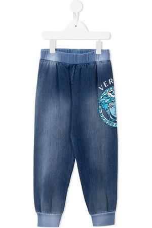 VERSACE Niño Pantalones - Pants con logo