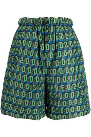 Dsquared2 Shorts náuticos con motivo D2