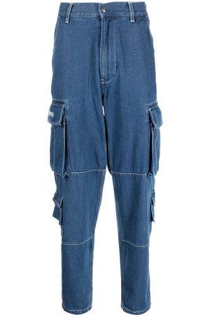 A Bathing Ape Denim cargo-pocket jeans