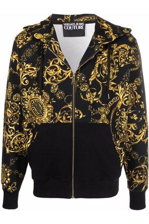 Versace Jeans Couture Hoodie con estampado Barocco