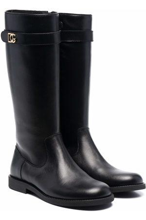 Dolce & Gabbana Botas altas de piel